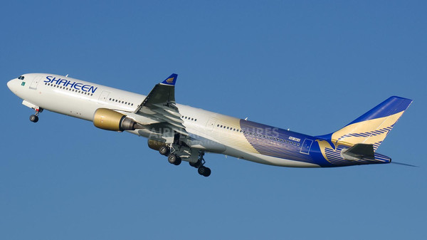 The Boeing 767 is reportedly registered in Jordan and is on loan to Shaheen Air.