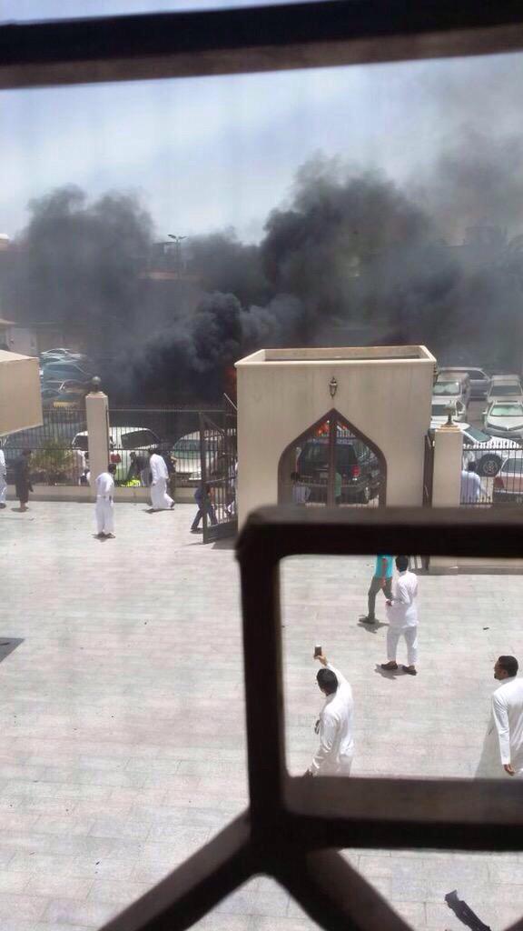 A car exploded near a Shi'ite mosque in Saudi Arabia's Dammam 2