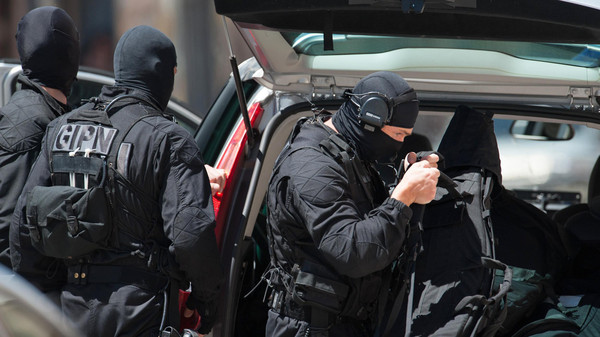 The suspects were picked up in the Paris region and are now in custody, a police source told AFP.