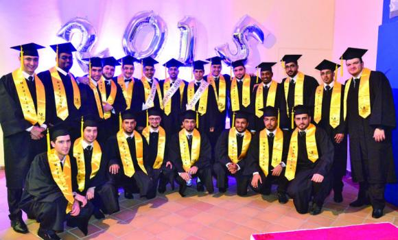 Some of the graduates of Batterjee Medical College in Jeddah.
