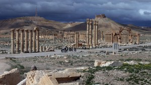 Syrian city of Palmyra