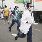 500 doctors, nurses rushed to aid stampede victims