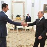 Assad meets Putin in 'first foreign visit since 2011'