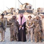 Saudi Arabia proud of its 'brave armed forces'
