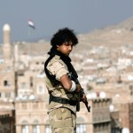 Arab coalition air raid kills 45 Houthi militias, among them a senior figure