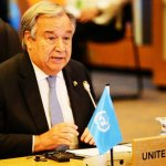 UN chief raises alarm over Rohingya in speech before Suu Kyi