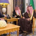 Saudi King receives US Secretary of energy