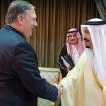 Saudi King Salman meets US Secretary of State Mike Pompeo