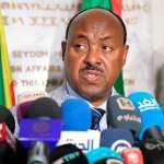 Sudan protesters, Ethiopia envoy discuss talks with military