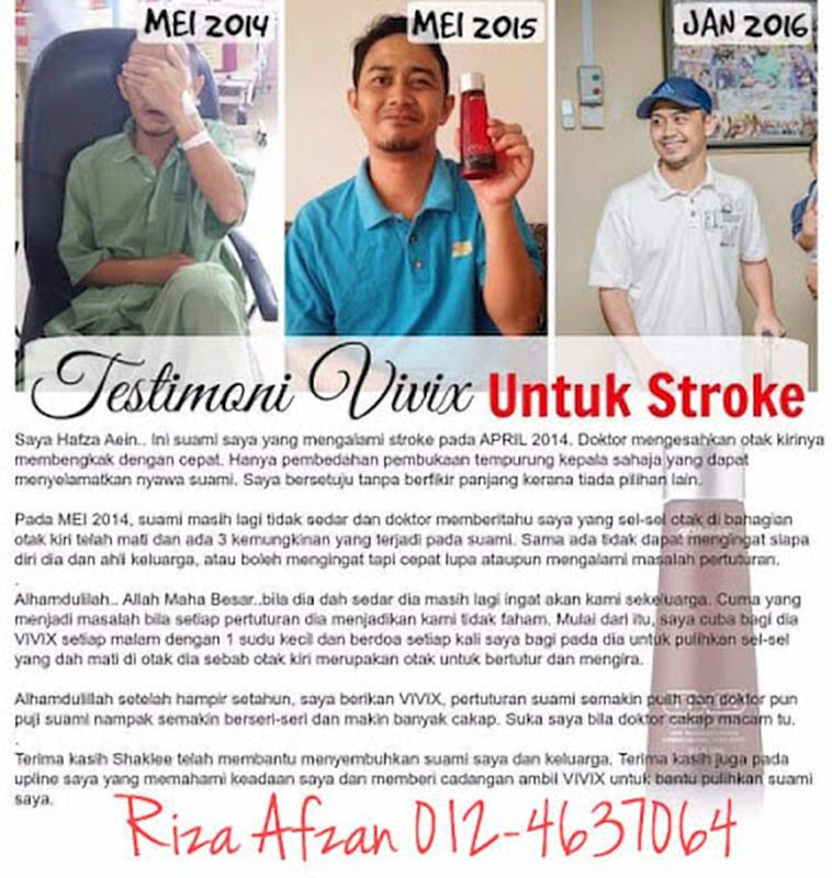 cepat pulih daripada stroke