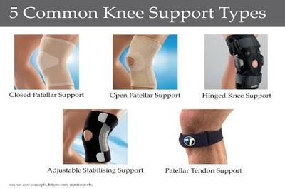 knee support untuk kuatkan lutut anda