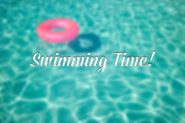 Swimming-time!
