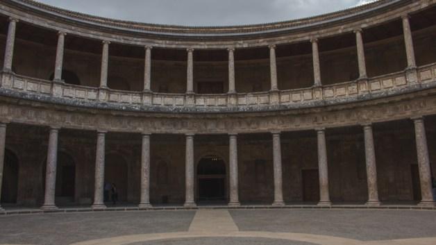 Granada - Palace of Charles V