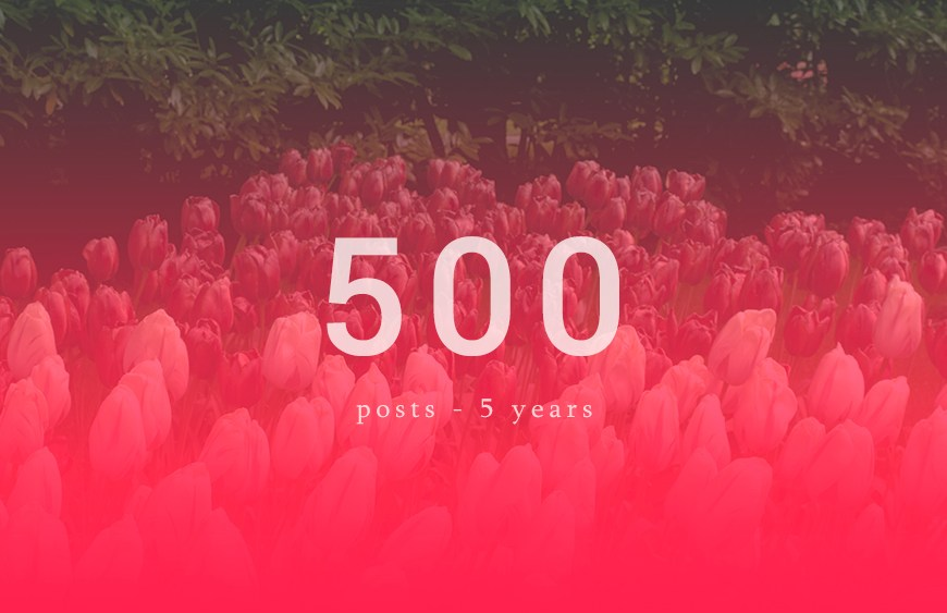 500-Posts-5 years