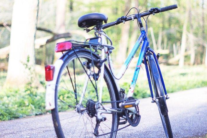 Sepeda Rizqi Fahma waktu Kuliah S2 di Belanda