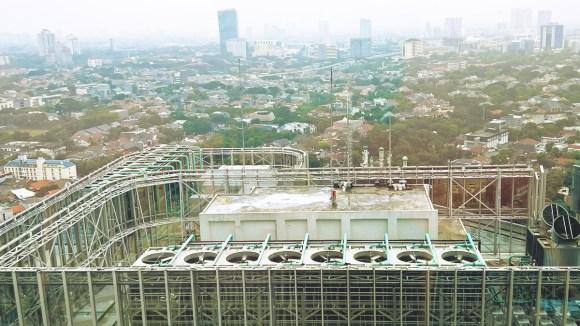 Rooftop Telkomsel Smart Office (Anak Perusahaan Telkom)