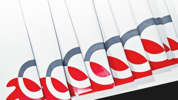 Telkom Indonesia Logo Whitey
