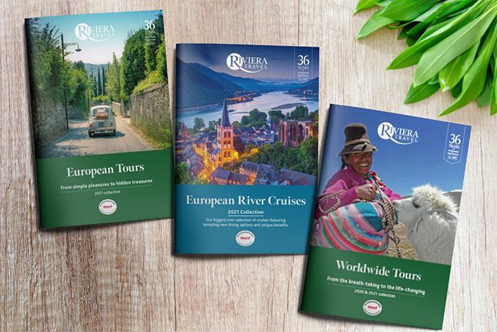 Riviera Travel brochures