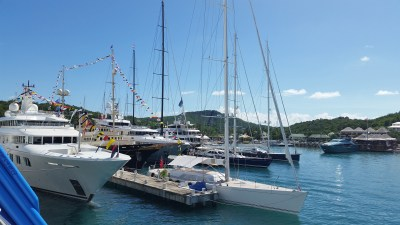 from RJC yacht charter vacation in the Caribbean