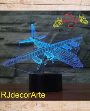 Lampara led avion 5