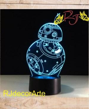 lampara led b-8