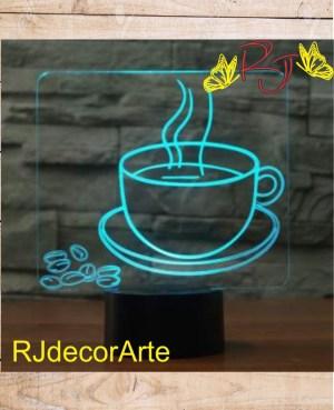 lampara led negocio cafe