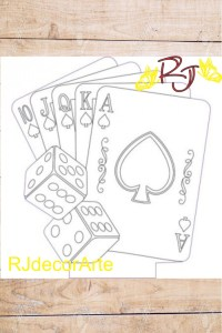 Vector baraja casino