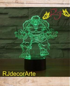 lampara led hulk