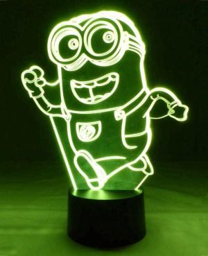 Lampara led minion 2