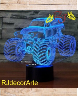 lampara led monster truck