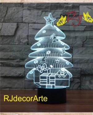 lampara led arbol navidad