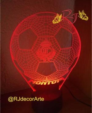 lampara led personalizada Toluca