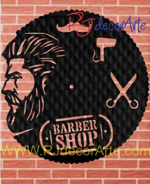 Reloj barbería 6