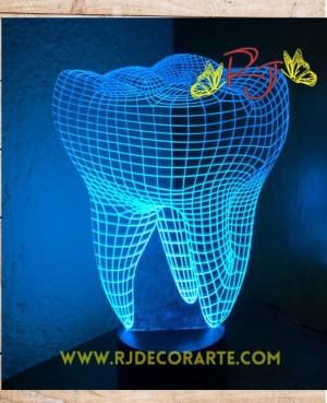 Lampara led dentista