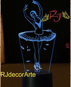 Lampara led ballet 2