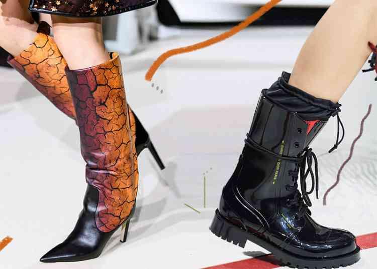 أحذية شتاء 2020 لأقدام دافئة وإطلالات أنيقة