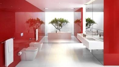 Photo of ديكور أحمر خاص بالحمام