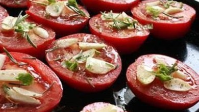 Photo of الطماطم المشوية