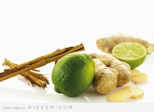 Photo of الزنجبيل و الليمون للتخلص من تراكم الدهون