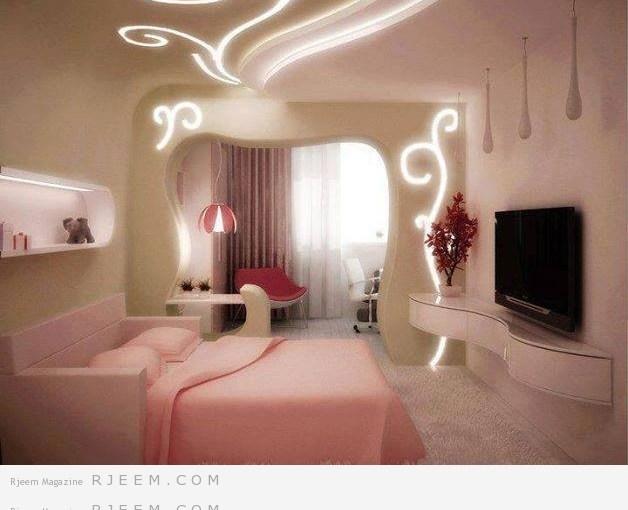 غرف نوم رومانسية روعة