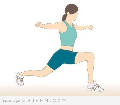 تمارين رياضية منزلية للكرش و الارداف