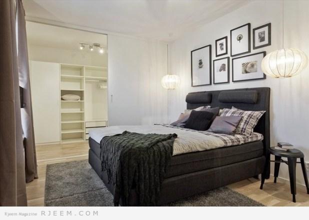 غرف نوم بتصاميم عصرية 2014
