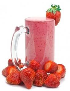 عصير فراولة