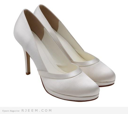 احذية كعب عالي للعروس 2014