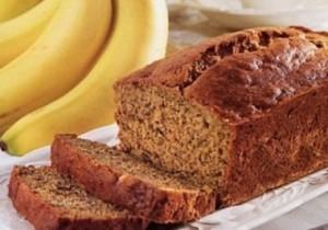 طريقة عمل خبز الموز