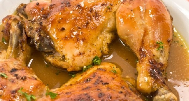 تتبيلة الدجاج بالليمون