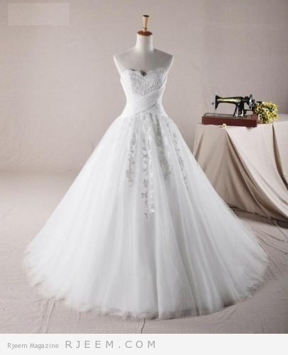فساتين زفاف رائعة لعروس 2014