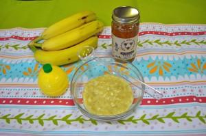 قناع العسل الموز للوجه