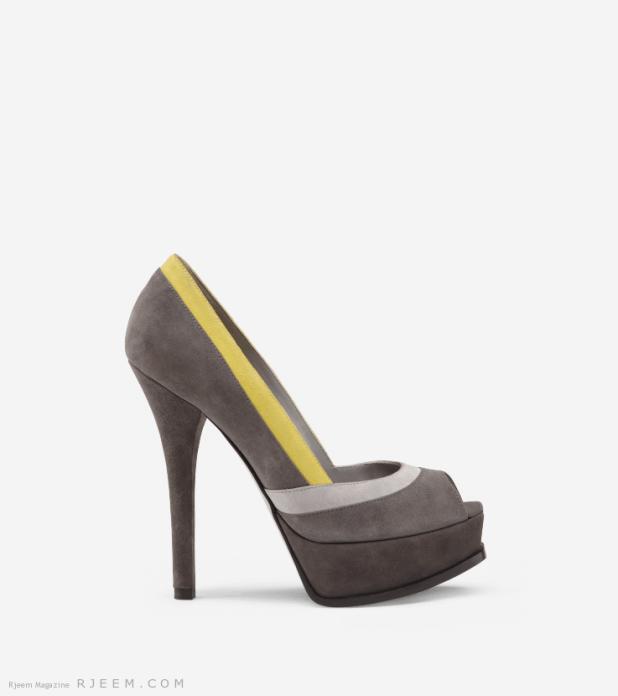 أحذية خطوبة رائعه 2014