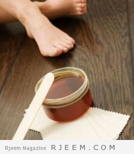 تحضير الحلاوة في المنزل بالخطوات و طريقة ازالة الشعر دون الم